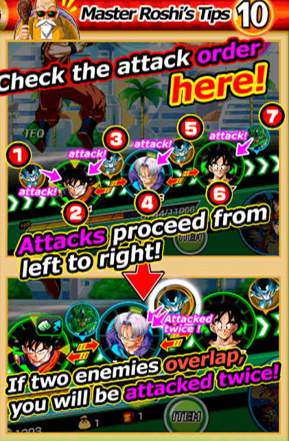 Dokkan Battle APK master roshi's tips