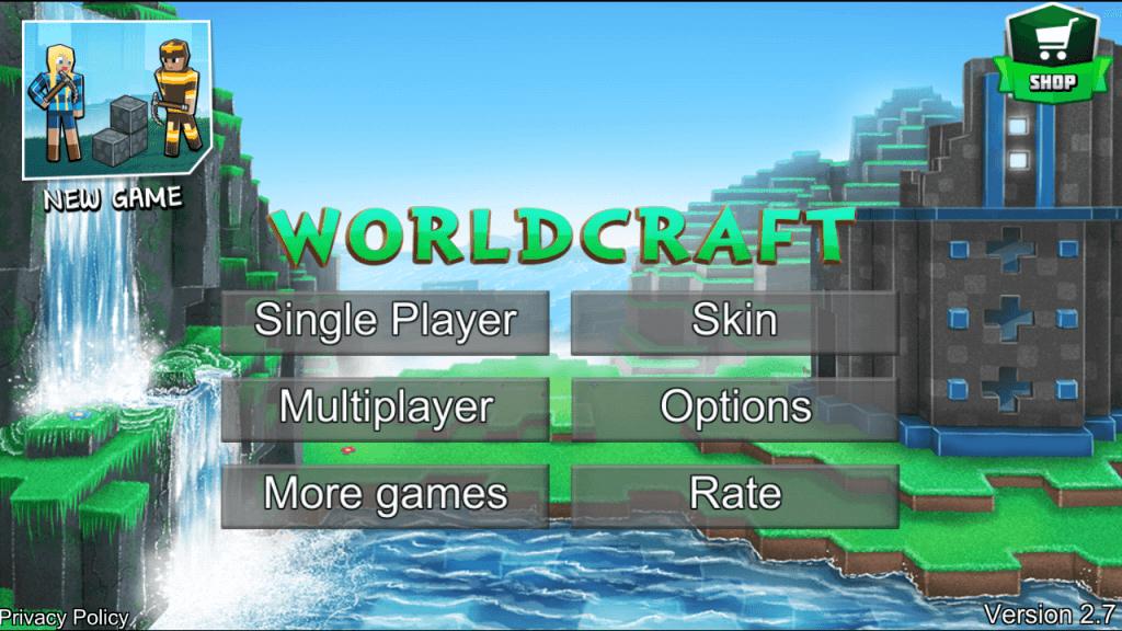 WorldCraft Apk