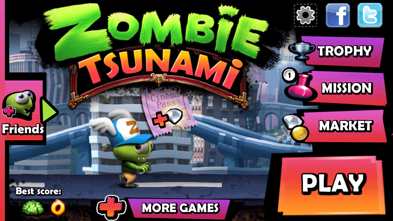 Zombie Tsunami Mod APK Unlimited Money v3 8 0 Download For Android