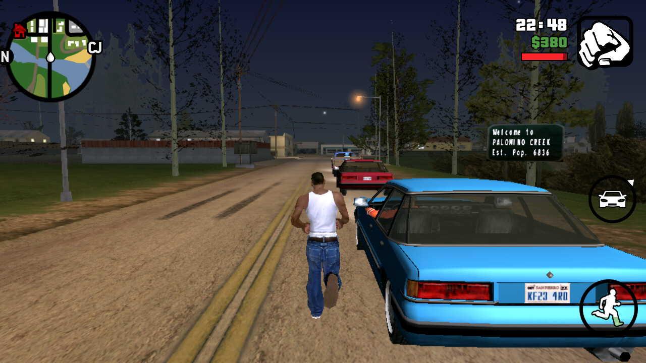 GTA San Andreas Apk + MOD (Cleo) + Data Latest v2 00 Free Download