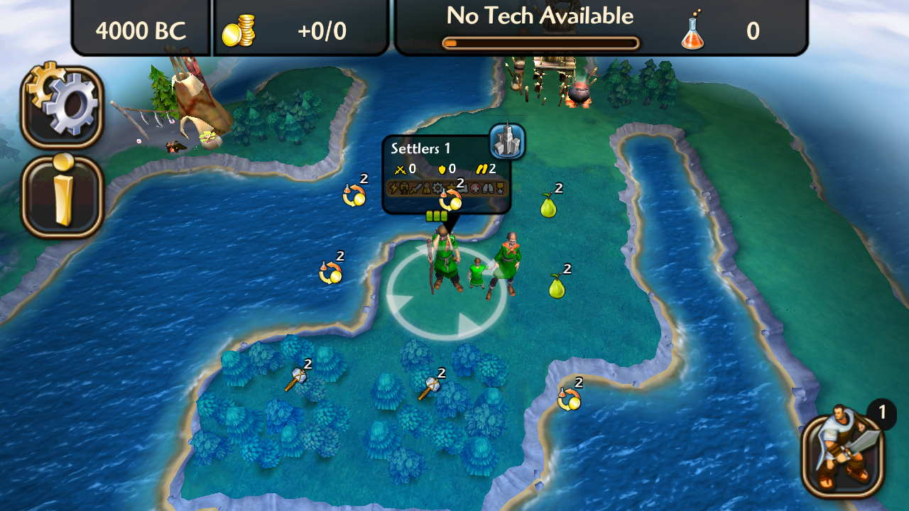 Civilization Revolution 2 3D visual