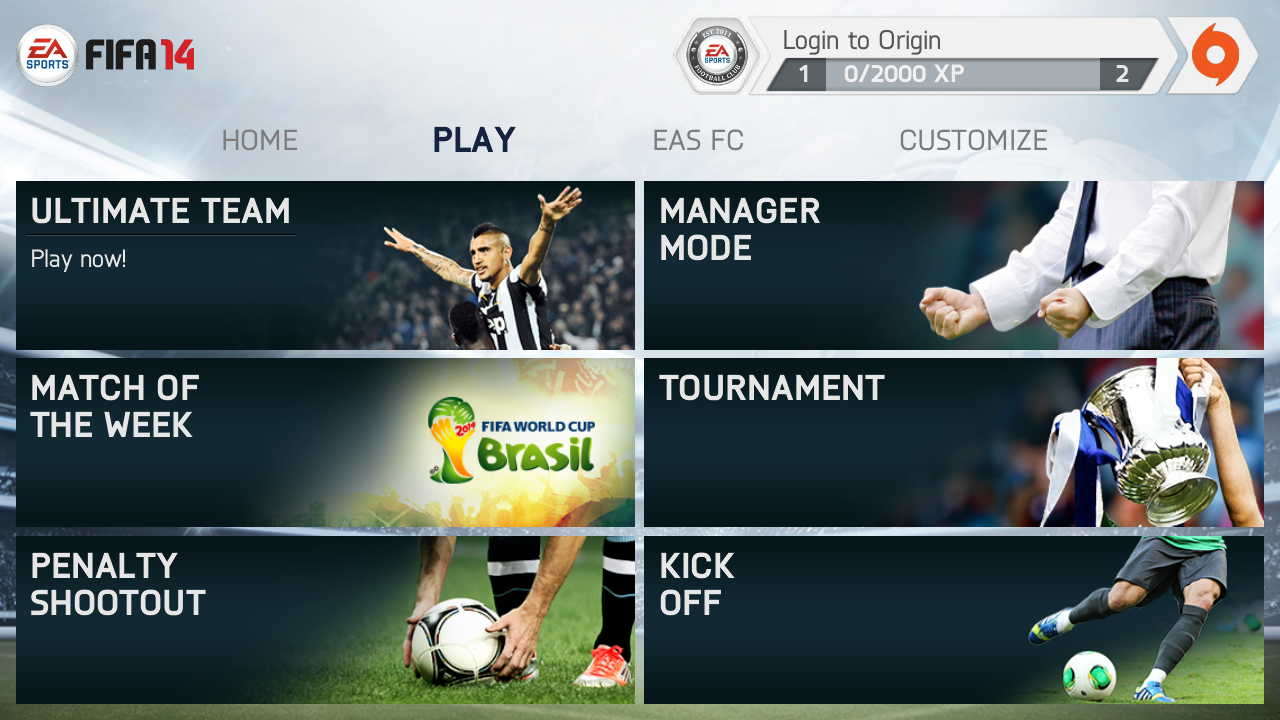 FIFA 14 apk android