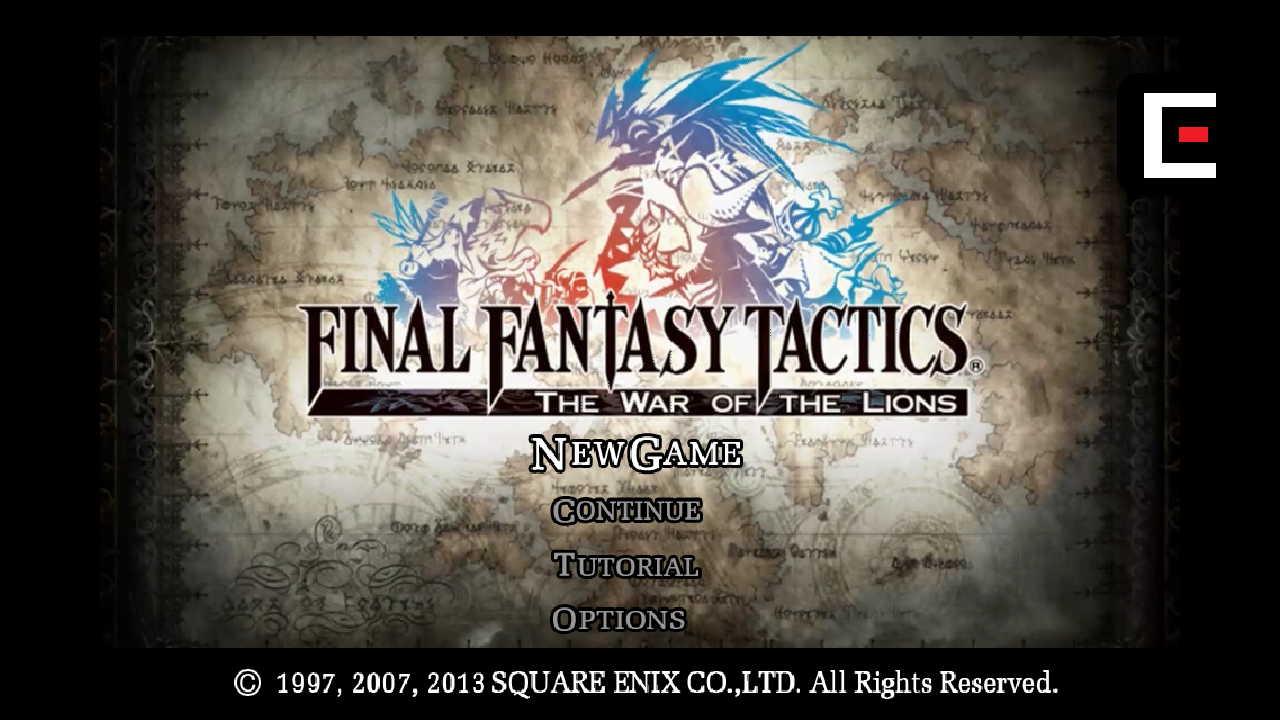 Final Fantasy Tactics Apk