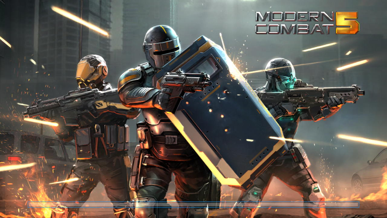 Modern Combat 5 APK + MOD + Data Free Download For Android