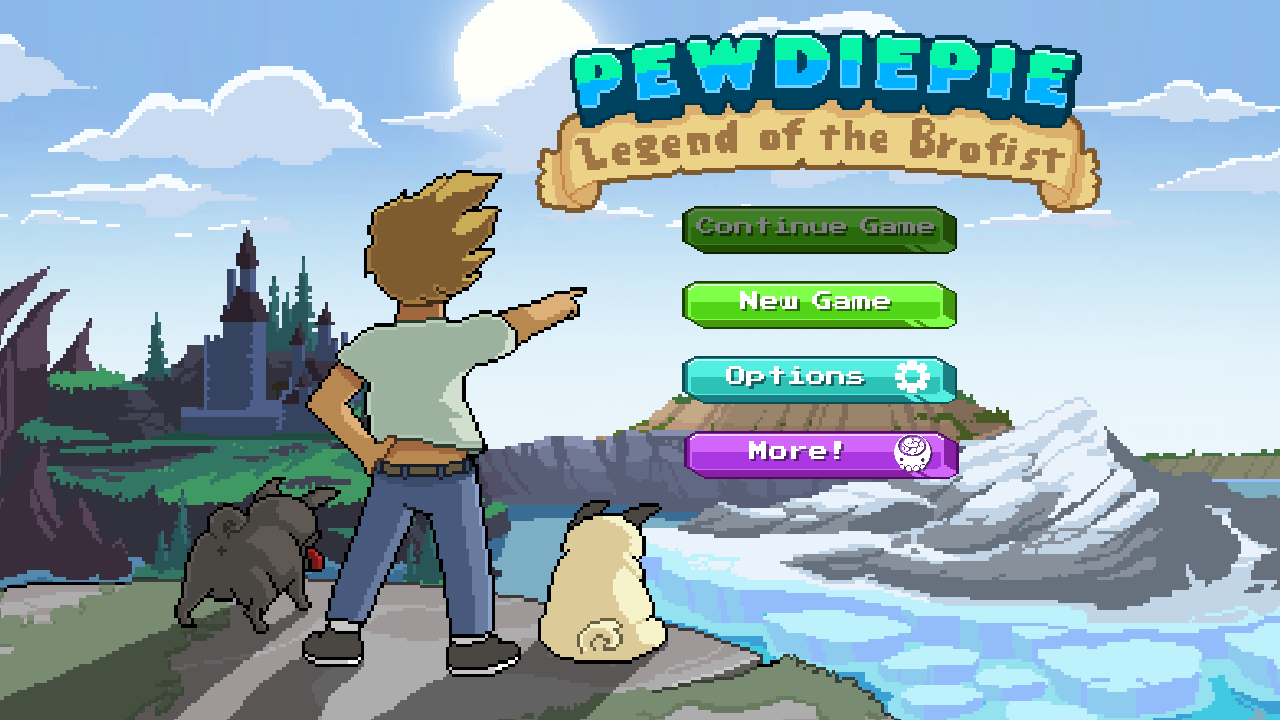 PewDiePie Legend of the Brofist Apk