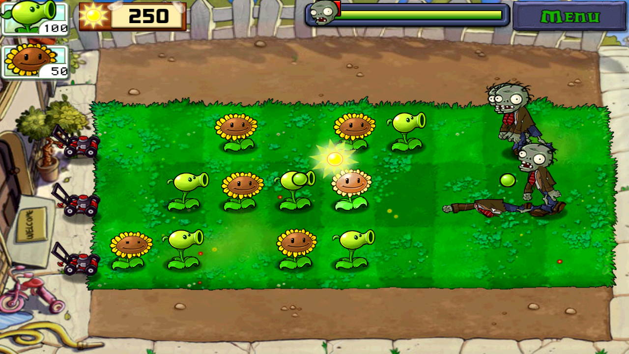 Plants VS Zombies Apk