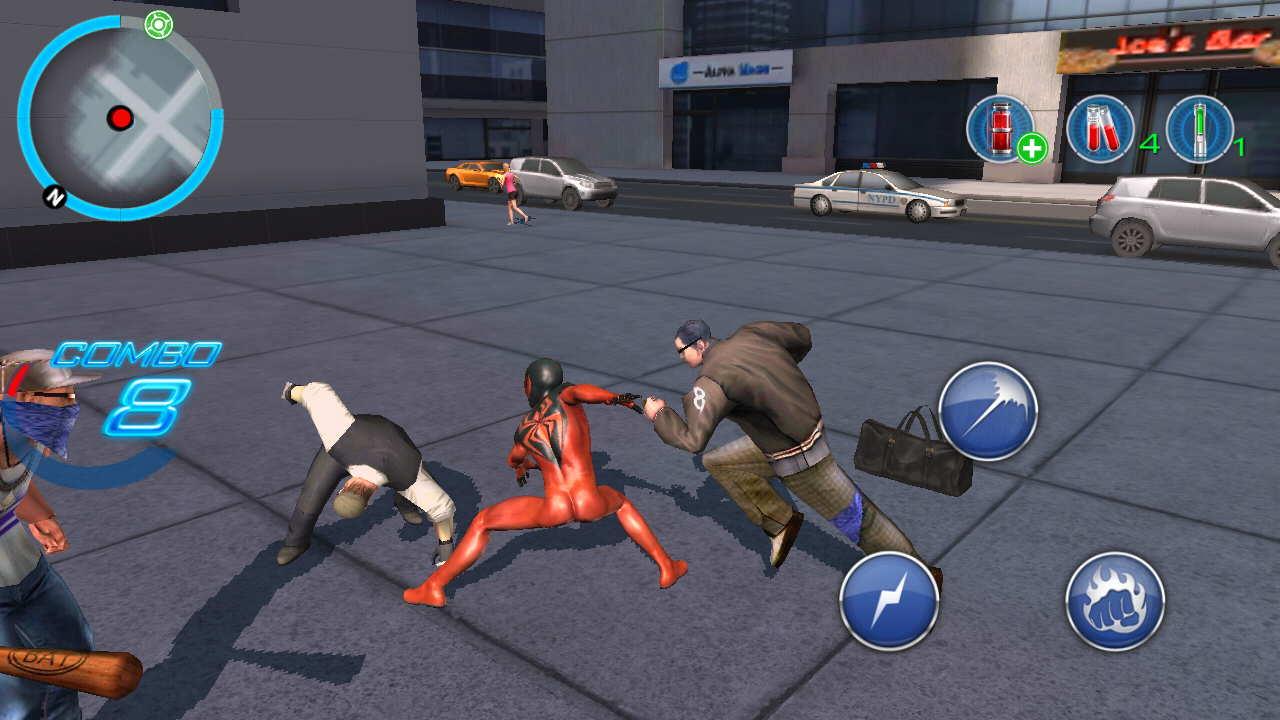 the amazing spider man 2 apk mod 1.2.7d