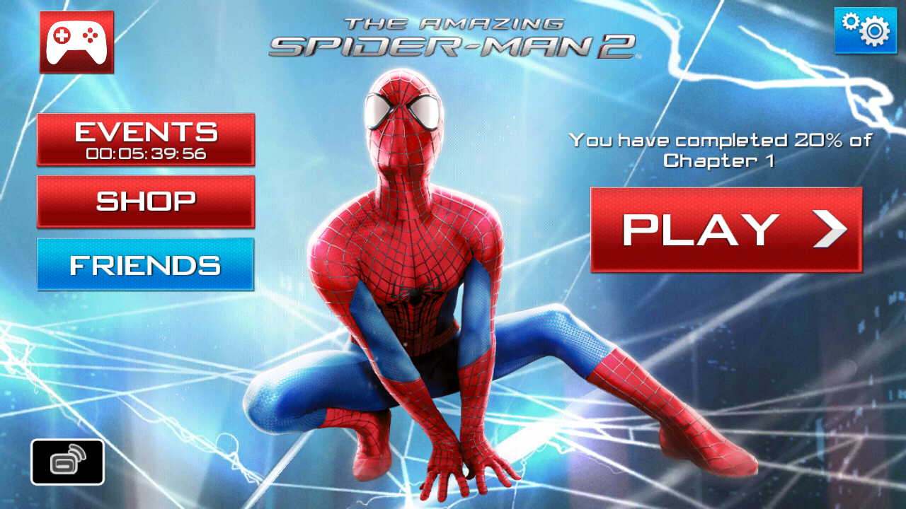 the amazing spider man 2 game apk obb data