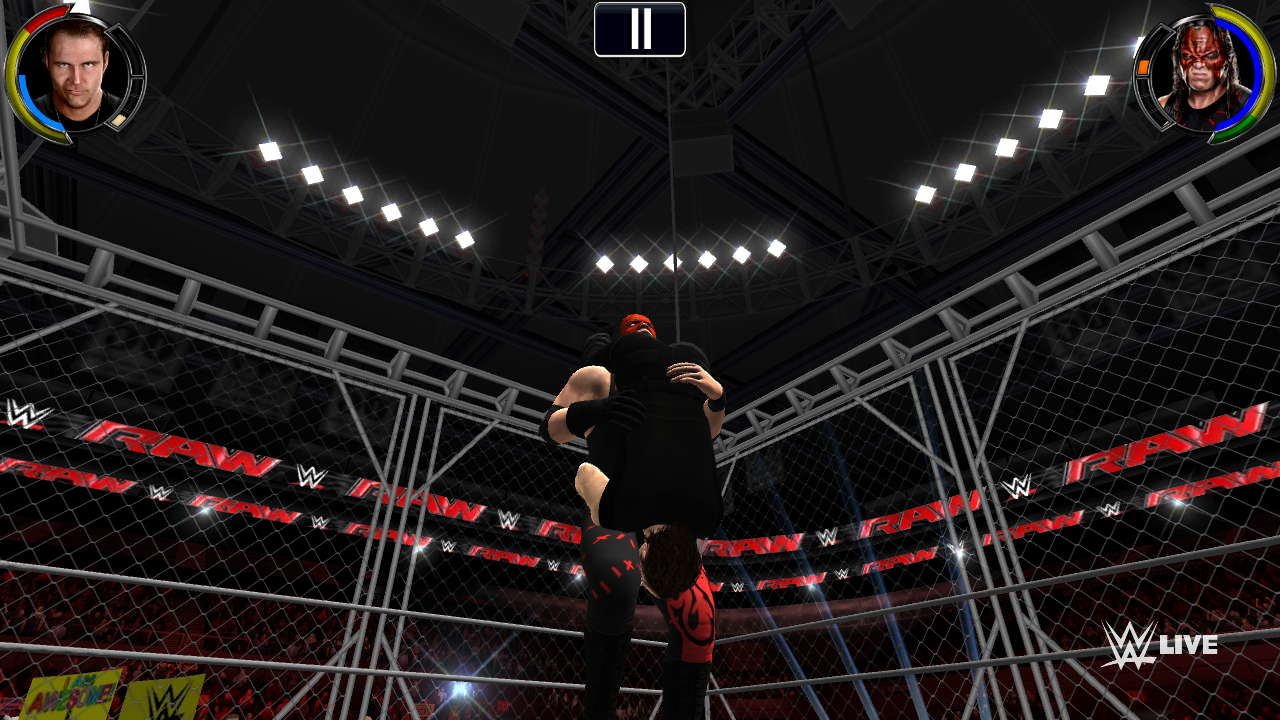 WWE 2K apk data
