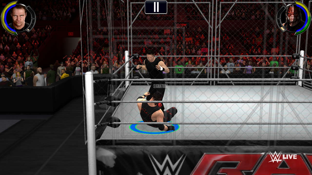WWE 2K game