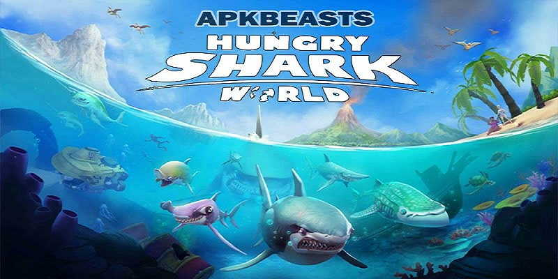 Hungry Shark World MOD APK (Unlimited Money & Gems) Free