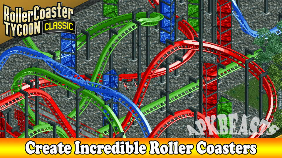 Download rct classic mod apk | RollerCoaster Tycoon Classic 1 1