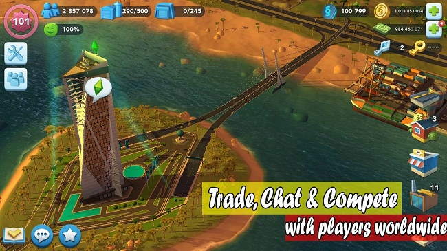 SimCity BuildIt MOD APK + Mega MOD Free Download For Android