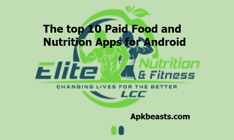 The top 10 Paid Food apps