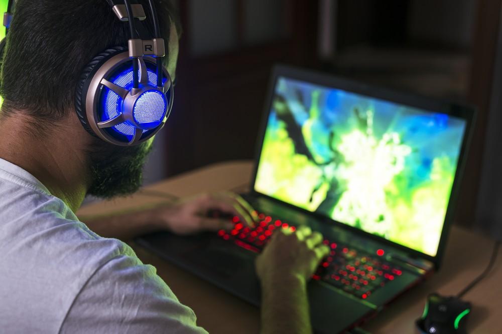 A Gaming Laptop