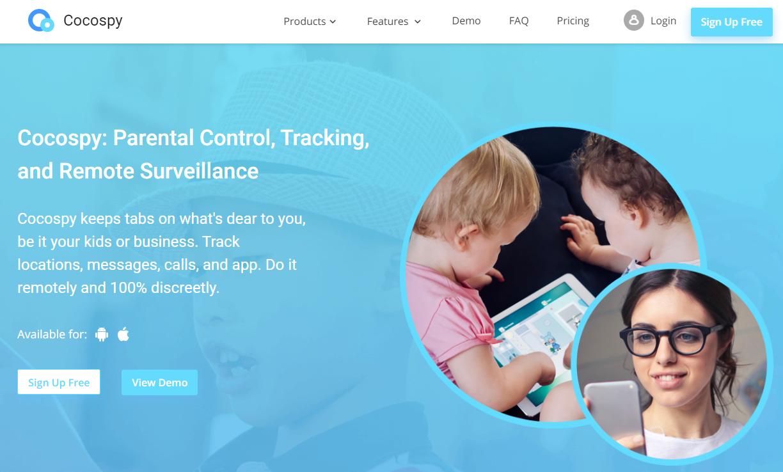 cocospy-homepage