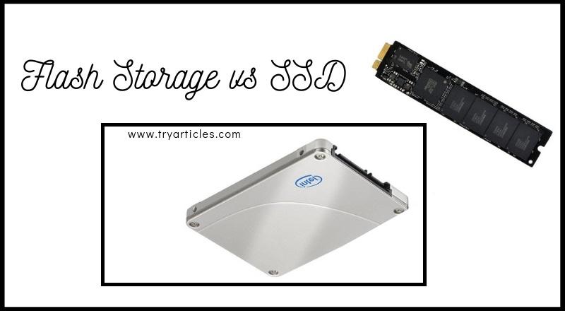 flash storage vs ssd