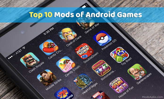 Mods for Android games