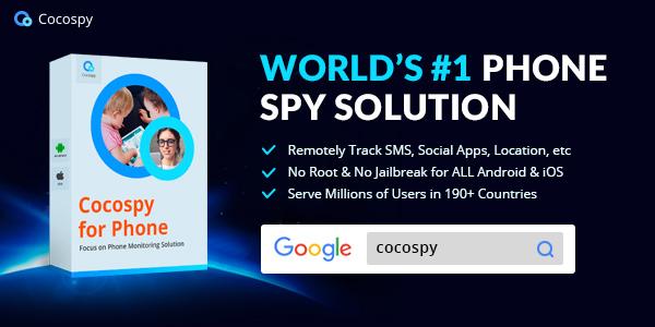 Cocospy-online spying app