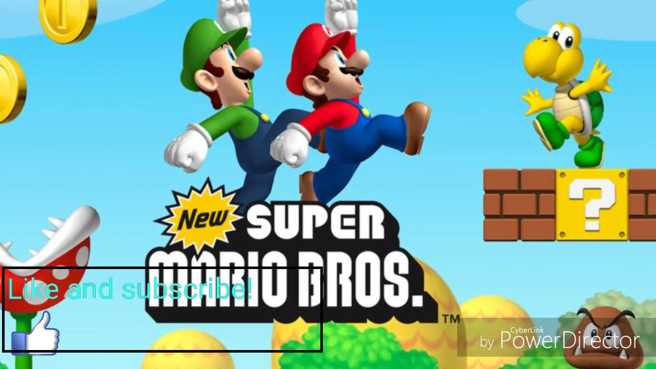 new super mario bros ds rom