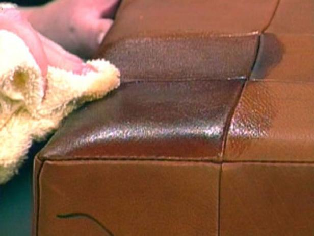 remove ink stains from leather couch