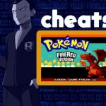pokemon fire red cheats