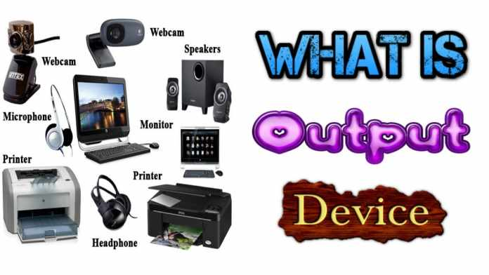 examples of output devices