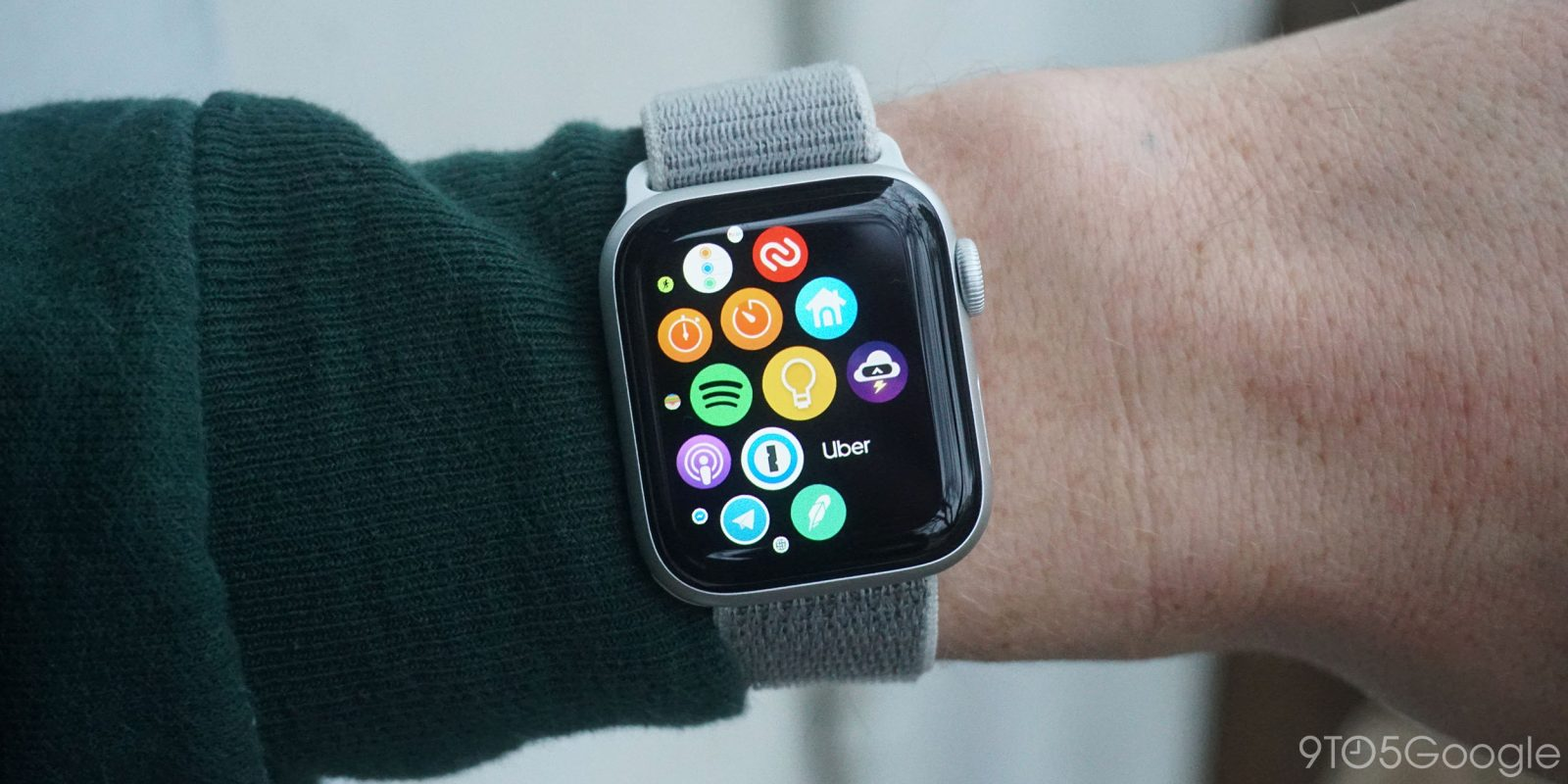 Apple Watch with Android