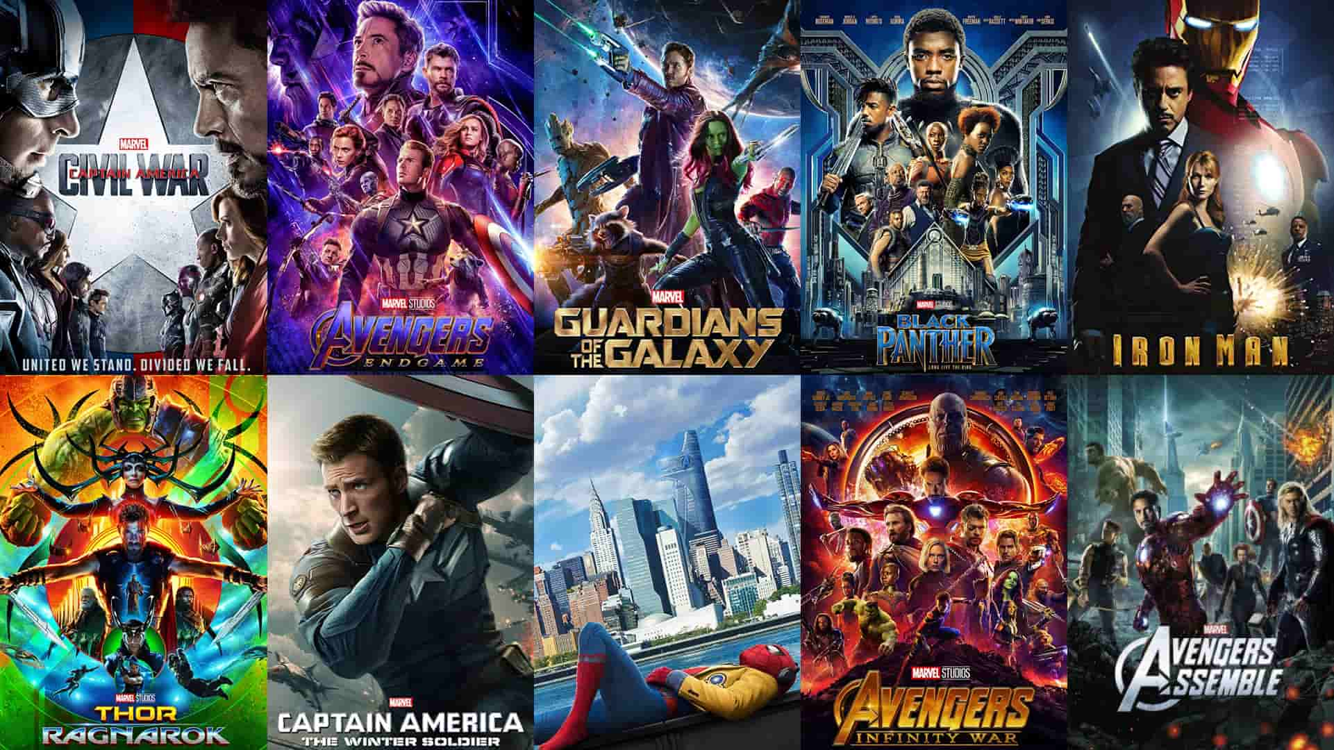 avengers movies in order