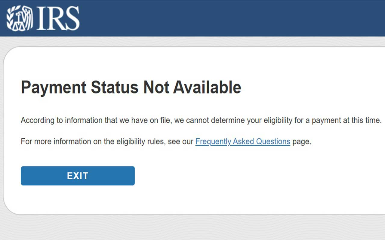 get my stimulus check status