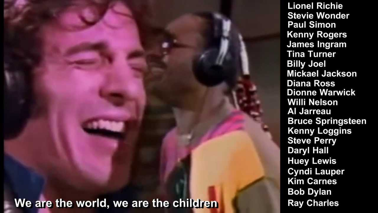 we are the world singers
