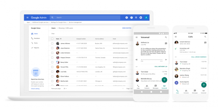 google voice for business