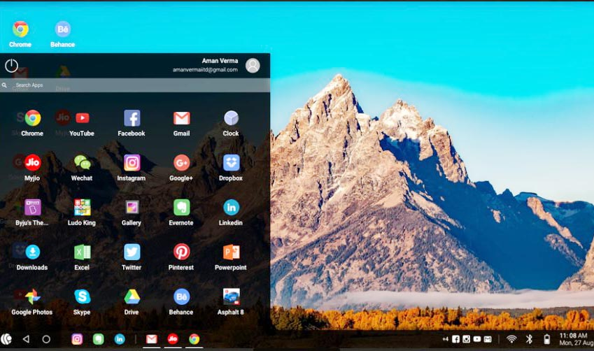 Android OS for PC